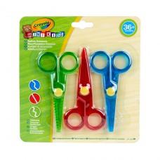 Mini Kids Набор ножниц, 3 шт Crayola 256411.118