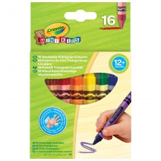 Mini Kids Crayola Набор треугольных восковых мелков для де