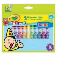 Mini Kids Мои первые фломастеры (washable), 12 шт Crayola