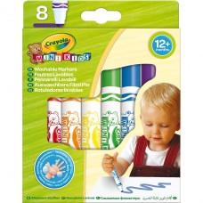 Mini Kids Crayola Мои первые фломастеры (washable), 8 шт C
