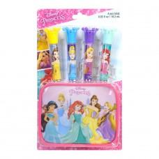 Markwins Disney Princess: Набор блесков для губ с футляром