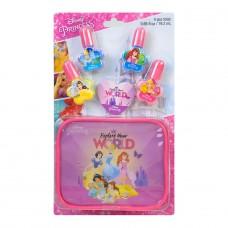 Markwins Disney Princess: Набор лаков для ногтей с футляро