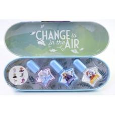 Frozen: Набор лаков для ногтей в металлическом футляре 158