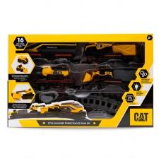 """Железная дорога CAT с мини-техникой """"Строительный экспресс"""" 82949"""