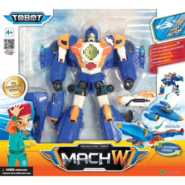 Игрушка-трансформер Tobot S4 Тобот MACH W 301049