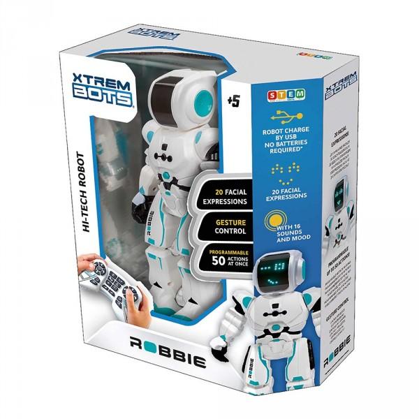 Робот Робби STEM Robbie Blue Rocket XT380831