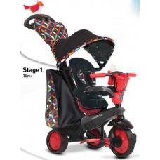 Велосипед Smart Trike Boutigue 4 в 1 чорно-червоний 800520