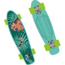 """Скейт """"GO Travel"""" с рисунком, 56 cм Penny board"""