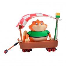 Игровой набор 44 CATS фигурка Фрикаделя с транспортным сре