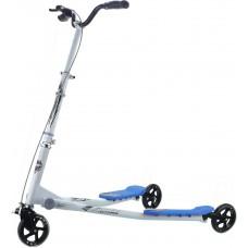 Cамокат Go Travel Speeder, серебристо-голубой, большой LS-
