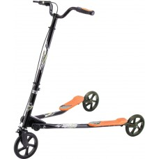 Cамокат Go Travel Speeder, черный с оранжевым, средний LS-