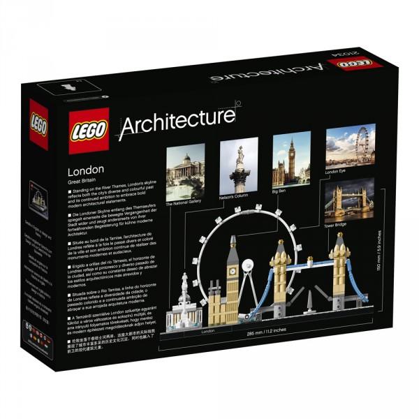 LEGO Architecture Лондон 21034