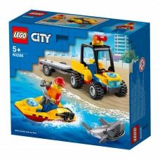 LEGO City Конструктор Great Vehicles Пляжный спасательный
