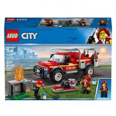 LEGO City Конструктор Грузовик начальника пожарной охраны