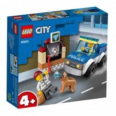 """LEGO City Конструктор """"Полицейский отряд с собакой&qu"""