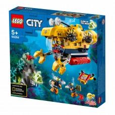 LEGO City Конструктор Разведывательная подводная лодка 602