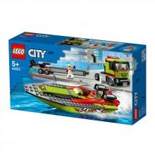 """LEGO City Конструктор """"Транспортировщик скоростных катеров"""" 60254"""