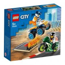 """LEGO City Конструктор """"Команда каскадеров"""" 60255"""