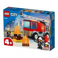 LEGO City Конструктор Пожарная машина с лестницей 60280