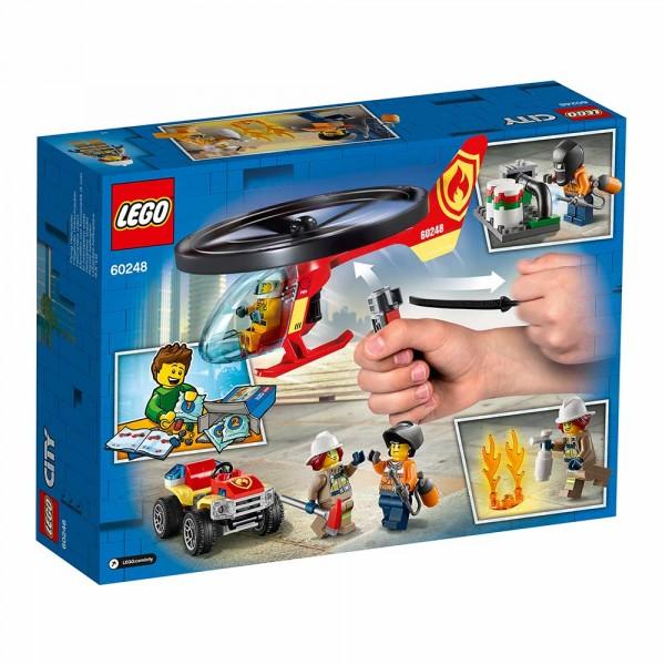 """LEGO City Конструктор """"Пожарный спасательный вертолёт"""" 60248"""