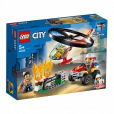 """LEGO City Конструктор """"Пожарный спасательный вертолёт"""
