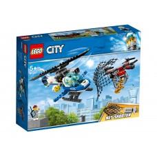 LEGO City Конструктор Воздушная полиция: преследование с д