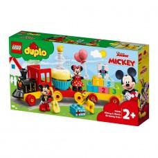LEGO DUPLO Конструктор Disney Праздничный поезд Микки и Ми