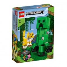 "LEGO Майнкрафт (Minecraft) Конструктор ""Крипер и Оцел"