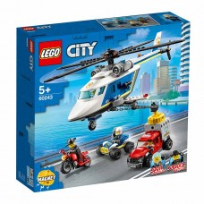 LEGO City Конструктор Погоня на полицейском вертолете 6024