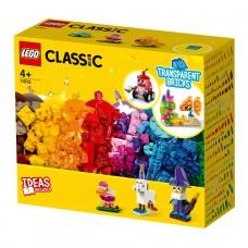 LEGO Classic Конструктор Прозрачные кубики для творчества