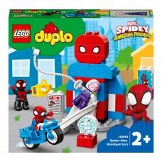 LEGO DUPLO Конструктор Штаб-квартира Человека-паука 10940