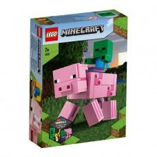 """LEGO Майнкрафт (Minecraft) Конструктор """"Свинья и зомб"""