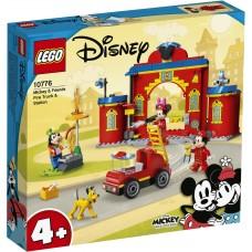 LEGO Mickey and Friends Конструктор Пожарная часть и машин