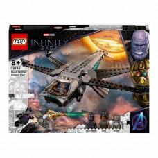LEGO Super Heroes Конструктор Корабль Чёрной Пантеры «Драк
