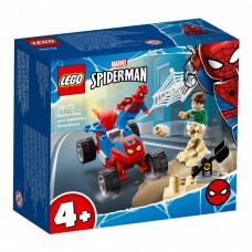 LEGO Super Heroes Конструктор Marvel Схватка Человека-паук