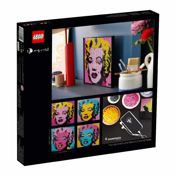 LEGO Art Конструктор Мерлин Монро Энди Уорхола 31197
