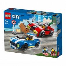 """LEGO City Конструктор """"Арест на шоссе"""" 60242"""