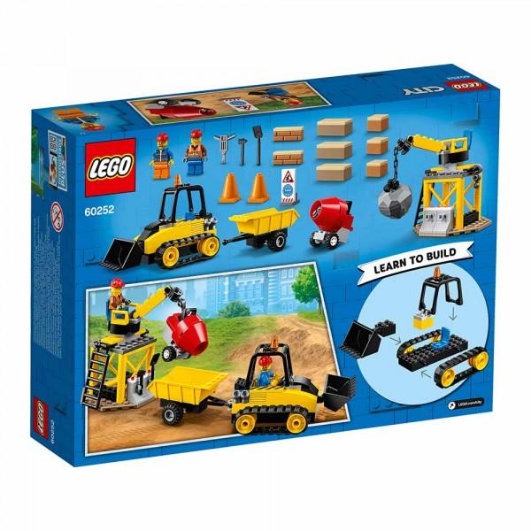 """LEGO City Конструктор """"Строительный бульдозер"""" 60252"""