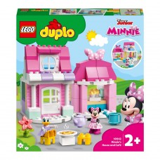 LEGO DUPLO Конструктор Дом и кафе Минни 10942