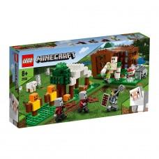 LEGO Майнкрафт (Minecraft) Конструктор Аванпост разбойнико