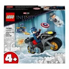 LEGO Super Heroes Конструктор Битва Капитана Америка с Гид