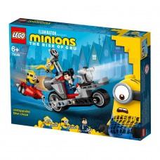 LEGO Minions Конструктор Неудержимая погоня на мотоцикле 7