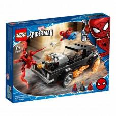 LEGO Super Heroes Конструктор Marvel Человек-Паук и Призра