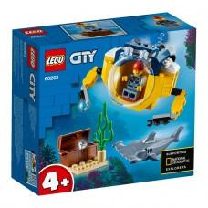 LEGO City Конструктор Океан Мини-субмарина 60263