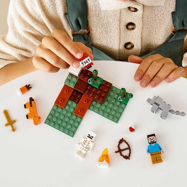 LEGO Майнкрафт (Minecraft) Конструктор Приключения в тайге 21162