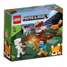 LEGO Майнкрафт (Minecraft) Конструктор Приключения в тайге