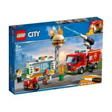 LEGO City Конструктор Пожар в бургер-баре 60214