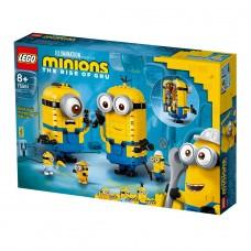 LEGO Minions Конструктор Миньоны из кубиков и их логово 75