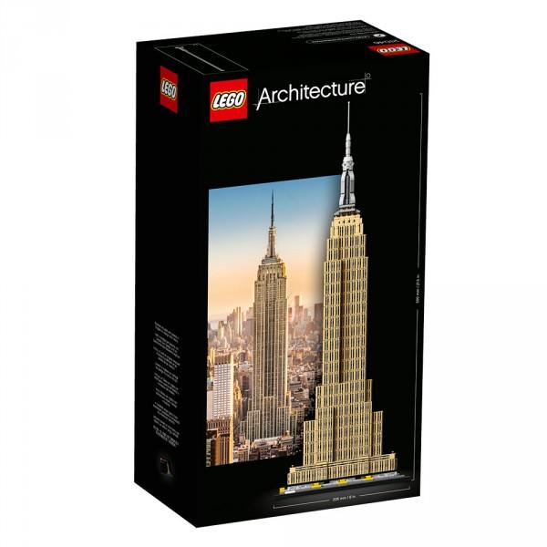 LEGO Architecture Конструктор Эмпайр-стейт-билдинг 21046