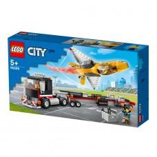 LEGO City Конструктор Транспортер каскадерского самолета 6
